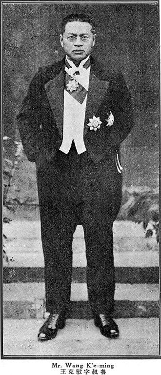 Wang Kemin - Wang Kemin (on Beijing Government era)