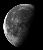 Waning gibbous moon near last quarter - 23 Sept. 2016.png