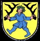 Das Wappen von Blaubeuren