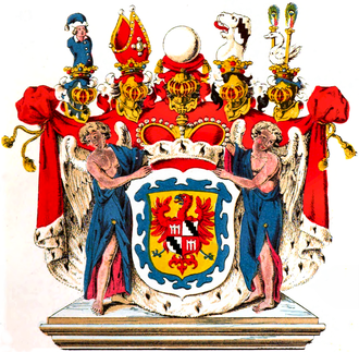 House of Fürstenberg (Swabia) - Arms of the Princes of Fürstenberg