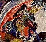 Wassily Kandinsky - Der Reiter (Improvisation 12) - 11249 - Bavarian State Painting Collections.jpg