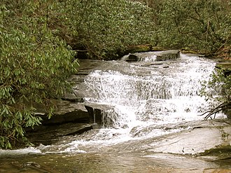 Jones Gap State Park - Waterfall, Jones Gap trail.