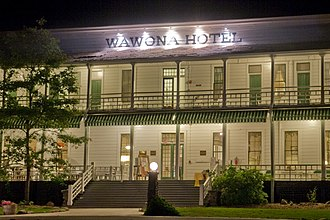 Mariposa County, California - The historic Wawona Hotel, built in 1876