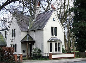 Weelsby - 'The Lodge' in Weelsby Road.