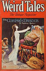 Weird Tales cover image for July 1929