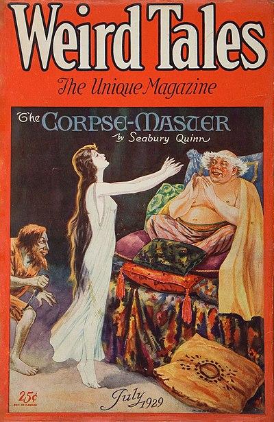 Weird Tales July 1929