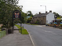 Welcome to Clayton-le-Moors (geograph 3050676).jpg