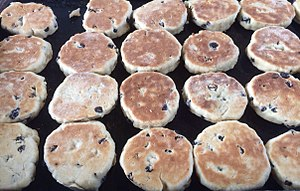 Welsh cakes on a bake stone.jpg