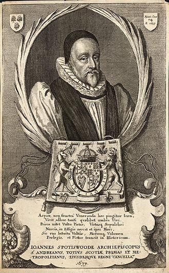 John Spottiswoode - Image: Wenceslas Hollar John Spottiswoode (State 3)
