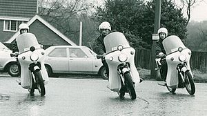 West Midlands Police - West Midlands Police motorbikes in the 1970s