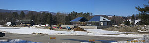 Weston Field Athletic Complex - Renovations continued during the winter months of 2014