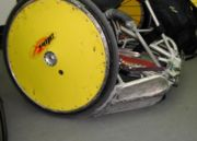 Wheelchair rugby chair