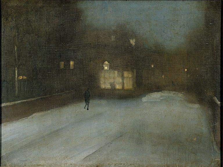 File:Whistler Grau und Gold - Schnee in Chelsea.jpg