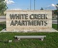 White Creek Apartments Sign.jpg