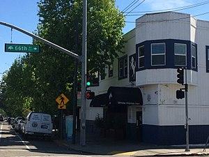 White Horse Inn (Oakland, California) - Image: White Horse Inn on 66th St and Telegraph Ave, April 2017