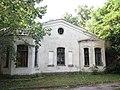 White dining house, Estate of graf Tolstoi, Onufriivka (2019-08-18) 01.jpg