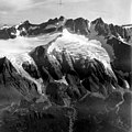 Wide Bay Glacier, Two Hanging Glaciers, August 24, 1960 (GLACIERS 855).jpg