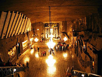 Seven Wonders of Poland - Image: Wieliczka saltmine kinga