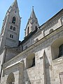 Wiener Neustadt Liebfrauenkirche südliches Seitenschiff außen.JPG