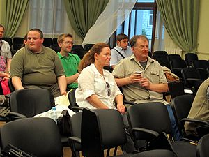 Wiki Party in Moscow 2013-05-18 (Wiki Award; Krassotkin; 13).JPG