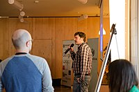 Wikimedia Hackathon Vienna 2017-05-19 opening 17.jpg