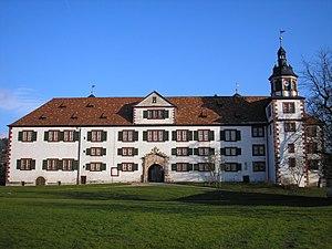 Wilhelmsburg Castle - Southwest facade of the castle
