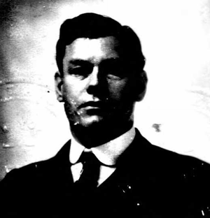 William V. B. Van Dyck - Van Dyck from 1916 passport application