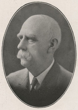 William W. Parsons - Parsons pictured in the 1921 edition of The Orient 1921, the Indiana State Normal School yearbook