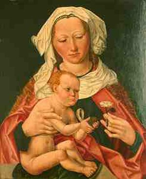 Wilm Dedeke - Madonna with Child (Madonna mit Kind), c. 1500