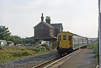 Winchelsea railway station - Winchelsea station, August 1982