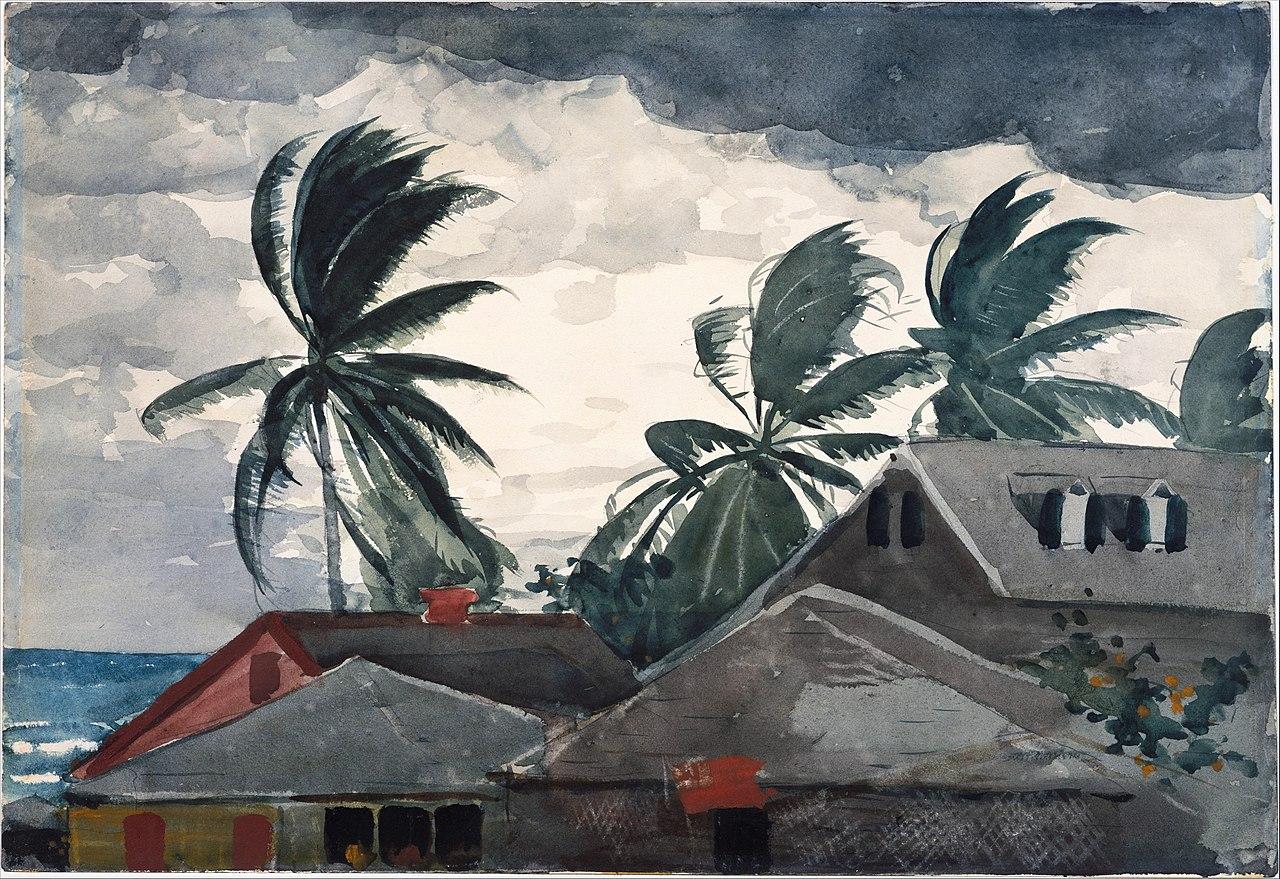 File Winslow Homer Hurricane Bahamas Jpg Wikimedia
