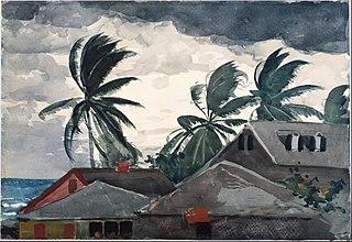 Ouragan, Bahams