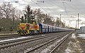 Winter in Lintorf Lok 542 (Eisenbahn und Häfen) met VTG Falns richting Duisburg (23811491154).jpg