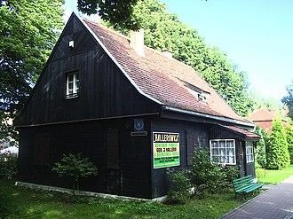 Józef Haller - Józef Haller's house in Władysławowo