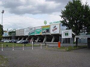 VfL-Stadion am Elsterweg - Image: Wolfsburg Vf L Stadion 1
