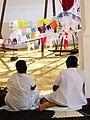 Women Worshippers at The Mahavihara - Anuradhapura - Sri Lanka - 02 (13964643159).jpg
