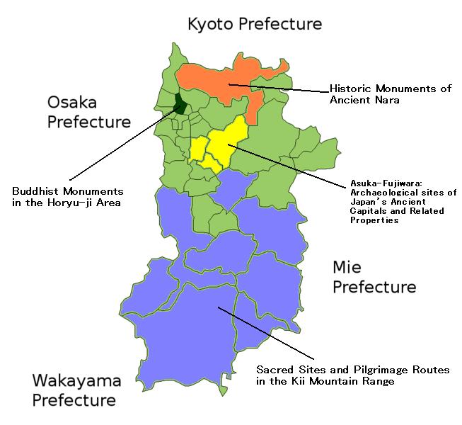 World Heritage Sites Nara