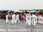 World Village Daoguan Taekwondo Training in Chiayi AFB Apron 20120811.jpg