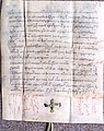 Writ of the Wallachian voivode Radu cel Frumos from 14 October 1465.jpg