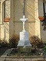 Wrocław, pomnik poległych w I wojnie światowej przed kościołem św. Maurycego (Aw58).JPG