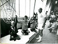 Xx0684 - Medal ceremony A1 100m free 1984 Paralympics New York - 3b - Original scan.jpg