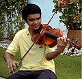 Yabes in a music training in Pampanga.jpg