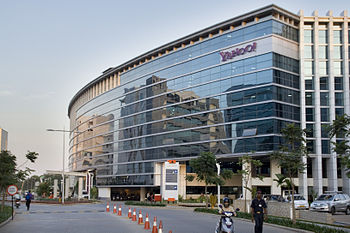 The Yahoo! offices in Bangalore