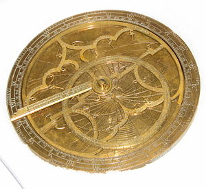 Georg Hartmann - One of four extant brass astrolabes manufactured by Hartmann and his artisans in 1537