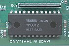 The Yamaha YM3812 sound chip.