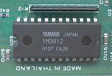 OPL2 sound chip