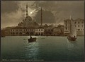 Yeni-Djama (i.e., Yeni Cami) by moonlight, Constantinople, Turkey-LCCN2001699441.tif