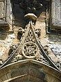 Yeovil St John's Church entrance doorway detail.JPG