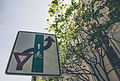 Yield to Bikes - Bike Lane, Portland, Oregon (20134167486).jpg