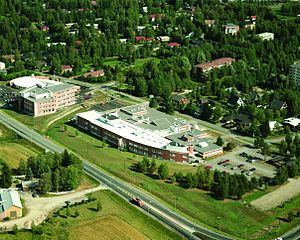 Centria University of Applied Sciences - Ylivieska Campus - a view from high
